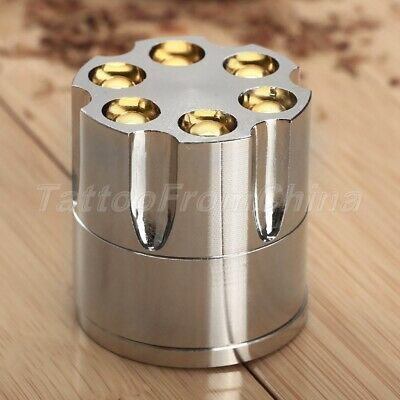 4cm Zinc Alloy Smoke Herbal Herb Crusher Cigar Tobacco Spice Grinder Hand Muller