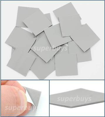 20pc 25 x 25mm Silicone Based Thermal Pad Conductive Adhesive Tape Heatsink