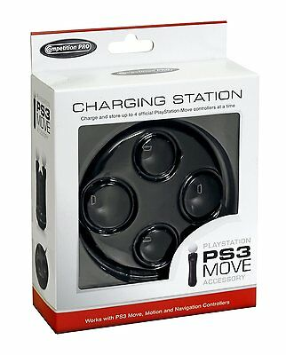 Competition Pro PS3 Move Controller Quad Charge Dock