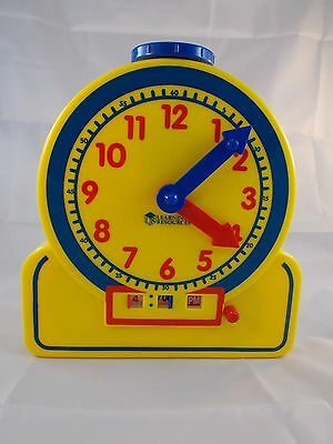 """Learning Resource Primary Time Teacher Clock 9"""""""