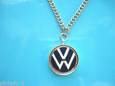 VOLKSWAGEN  logo - Necklace (sil) GIFT BOXED