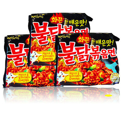 Hot Spicy Chicken Noodles 3,6,9pack BULDAKBOKEUM Ramyun Korean Fire Noodle Ramen