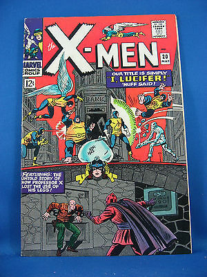 X Men 20 Vf Nm 1966