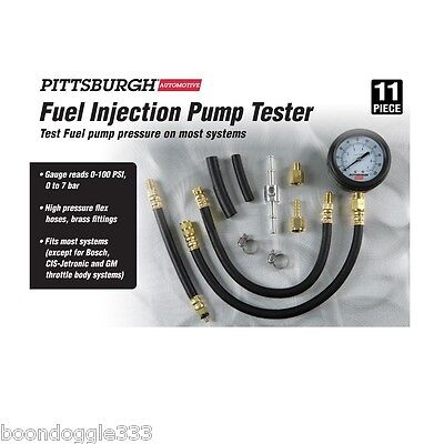Brand New Fuel Injection Fuel Pump Tester 0-100 Psi 0-7 Bar