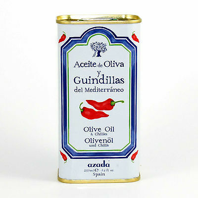 Azada Chilli flavoured extra virgin olive oil 250ml
