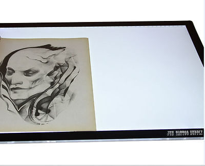 A3 LED Lavagna Ultra Slim Art Craft Tracing Copy PAD Light Box Tattoo