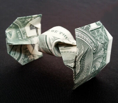 F/A-18 HORNET Fighter Plane Money Origami Aircraft  Made of Real One Dollar Bill
