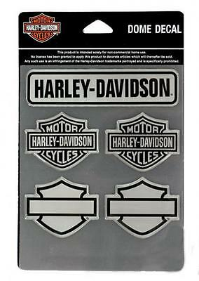 Harley Davidson Sticker-/Aufkleberset 3 D Modell Decal Sheet Bar & Shields