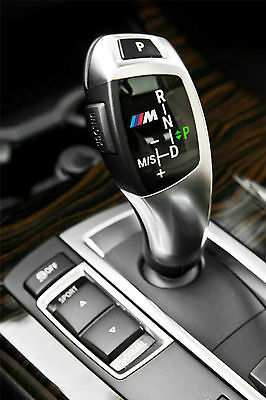 2x BMW M tec automatic gear knob sticker decal logo F10 F20 F30 F01 E70 E90 E71