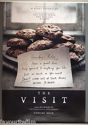 Cinema Poster: VISIT, THE 2015 (One Sheet) M. Night Shyamalan Olivia DeJonge