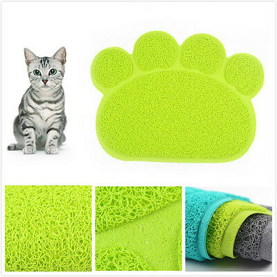 PVP Different Shapes Random Color Cat Litter Mat Pet New Soft Cute Lovely