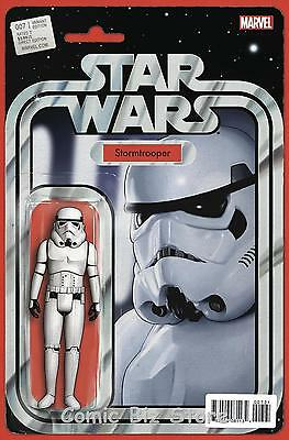 Star Wars #7 (2015) 1St Printing Scarce Stormtrooper Action Figure Variant Cover