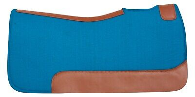 Wool Felt Leather Western Saddle Therapeutic Racer Contour Horse Shock Pad Trail