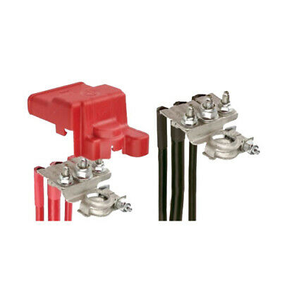 Projecta Positive Negative 3 Way Battery Distribution Terminal Clamp Pair BT925