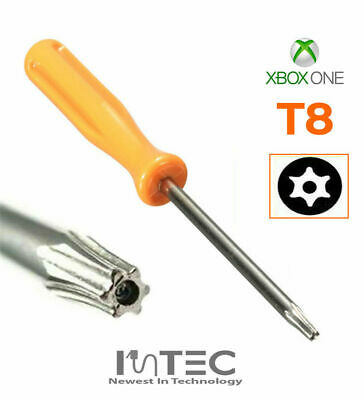 Xbox ONE Controller Torx T8 Security Opening Screw Driver with Hole in the tip