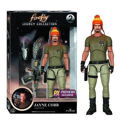 FIREFLY PX EXCLUSIVE JAYNE COBB w/ HAT & Vera  LEGACY Collection ACTION FIGURE