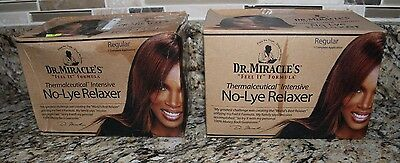 Relaxer No-Lye Dr. Miracle's Thermalceutical Intensive- 2 Complete Applications