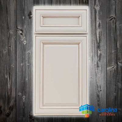 All Solid Wood RTA Cabinet Sample Door, Wood Kitchen Cabinets, Color: White