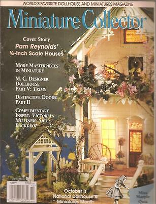 Miniature Collector-October 1999/ Mini Houses, How To-Trims & Doors, Hat Shop