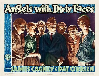 JAMES CAGNEY * Dead End Kids * ANGELS WITH DIRTY FACES * 11x14 LC print R- 1943