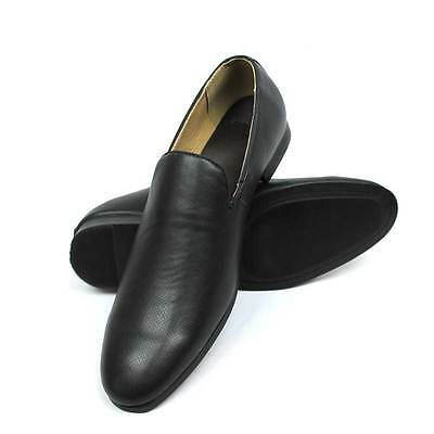 New Mens Dress Shoes Black Slip On Dotted Lace Up Loafers Casual  By AZAR MAN