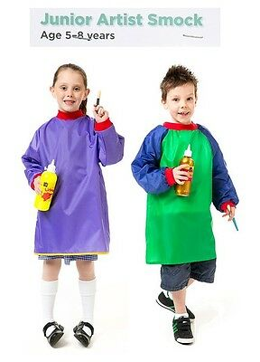Art Smocks Kids Art Apron Junior Ages 5-8
