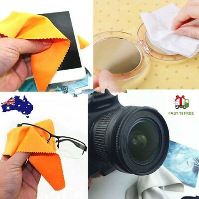 Computer LCD Monitor Cleaning Cloth Fabric Mobile Phone Camera Dust Glasses Lens