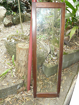 Antique Vintage Solid Timber & Glass Door ~ w/ original Rippled Glass DELIVERY