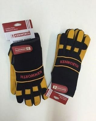 Kenworth Leather Palm Gloves(Msgmlkwm-2Xl)