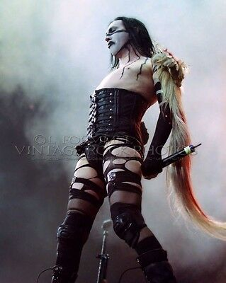 Marilyn Manson Poster Photo 20x30 inch 2001 Ozzfest Columbus OH Live Concert L32