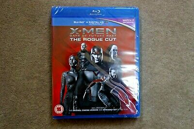 Blu-Ray X Men Days Of Future Past The Rogue Cut  New Sealed Genuine Uk Blu-Ray