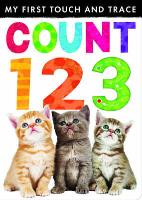 My First Touch and Trace: Count 123,Little Tiger Press,New Book mon0000055935