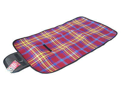 Small Blanket Camping Outdoor Beach Festival Waterproof Backing Picnic Rug Mat
