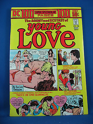 YOUNG LOVE GIANT 108 VF NM 1974 Sharp Squarebound