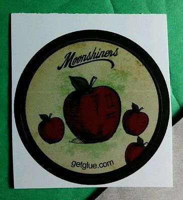 Moonshiners Apple Green Title Name Tv Get Glue Sticker
