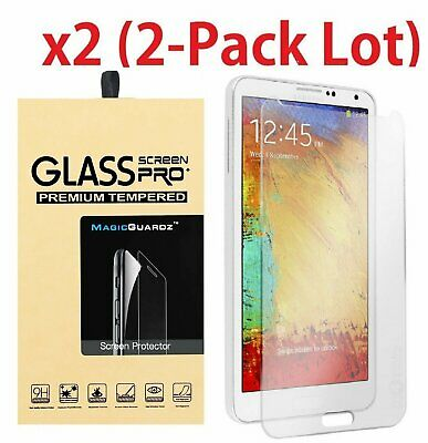 2-PACK Tempered Glass Screen Protector Film for Samsung Galaxy Note 3