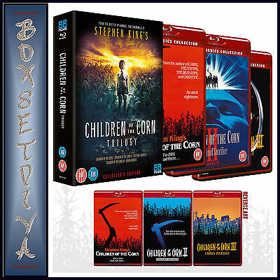 Children Of The Corn Trilogy - Collector's Edition *brand New Bluray Boxset **