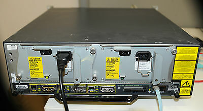 CISCO 7206 VXR ROUTER with DUAL POWER SUPPLY + NPE-G1 w/ 512MB Dr - 1 YEAR WTY