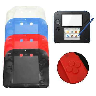 Protective Soft Silicone Rubber Hold Gel Bumper Skin Case Cover for Nintendo 2DS