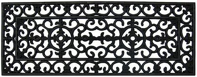 IRONGATE Long 100% Rubber Doormat Door Mat 120 x 40 French Provincial QUALITY