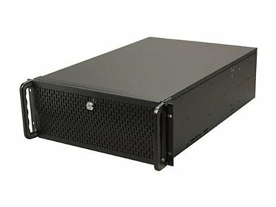 Rosewill 4U Rack Server Box 15 Bay E ATX Mount Case Metal Steel Cooling Fan IT