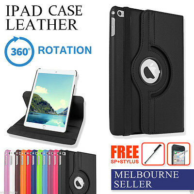 The Best Smart Leather Case Cover For Apple iPad 2 3 4 | Mini | Air | Pro 12""
