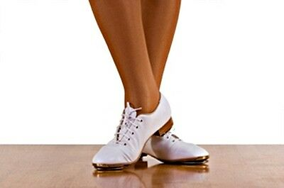 Women's Ms Stomper White Dance Shoes