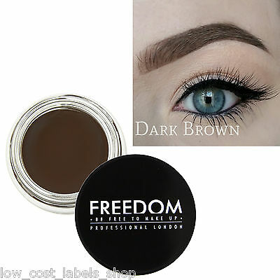 Freedom Makeup Eyebrow Definition HD Brows - Pro Brow Pomade Dark Brown