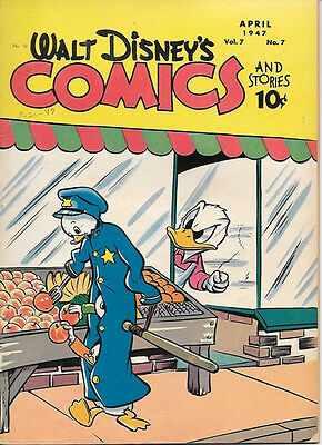 Walt Disney's Comics and Stories Comic Book #79, Dell Comics 1947 VERY GOOD+