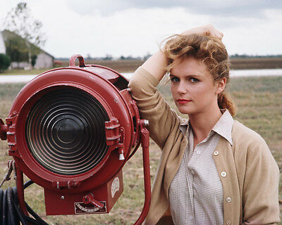 Lee Remick Posing By Movie Lights 8X10 Photo