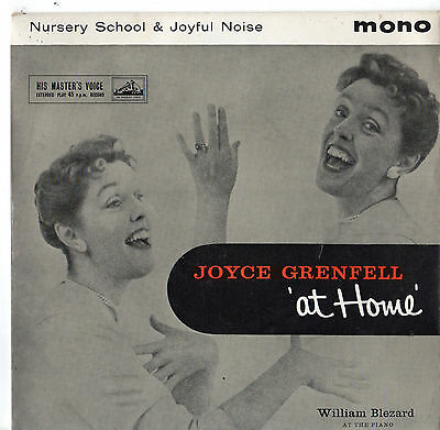 """Joyce Grenfell - At Home 7"""" Ep 1958"""