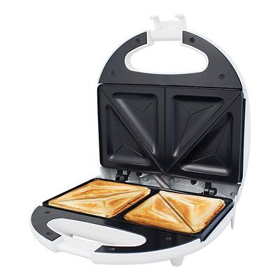 Quest Electric Sandwich Maker Toaster Toasie Easy Clean Non Stick White 750w