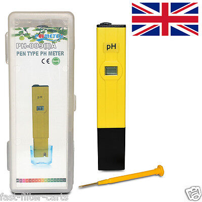 PH-009 Pen Type PH Meter For FishKeeping - Automatic Temperature Compensation