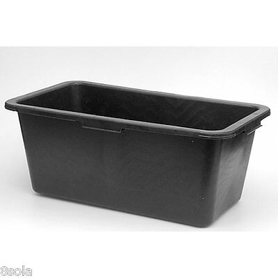 Faulks 60L Multi Tub Horse Feed Rectangular Bucket Equine Stable Water Trough